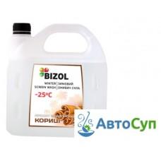 Готовая зимняя незамерзающая жидкость Bizol (-25C) ( корица)