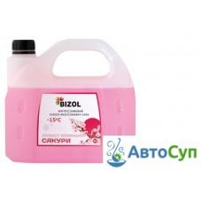 Готовая зимняя незамерзающая жидкость Bizol (-15C) (японская сакура)