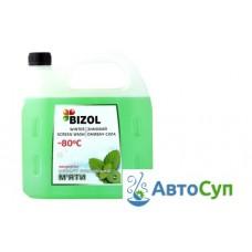 Концентрат зимней незамерзающей жидкости Bizol (-80C) ( мятный)