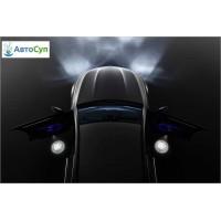 Компания Mercedes представляет:  светодиодные  лампы, которые отображают логотип AMG